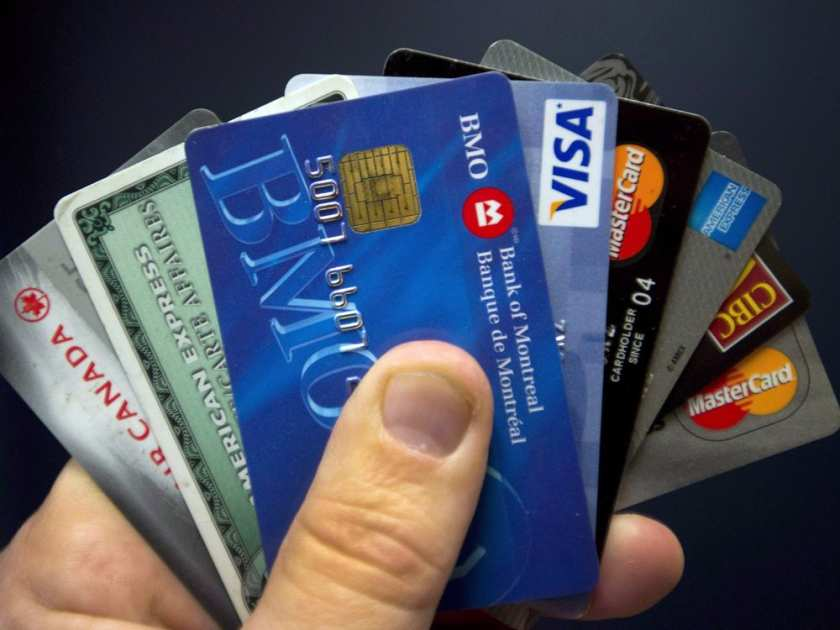 Credit and debit card spending is up in Canada, but dropped in Alberta, according to a report released April 20, 2017.